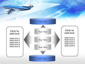 Plane PowerPoint Template#13