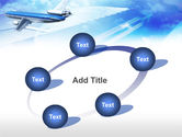 Plane PowerPoint Template#14