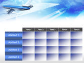Plane PowerPoint Template#15