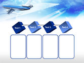 Plane PowerPoint Template#18