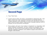 Plane PowerPoint Template#2