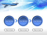 Plane PowerPoint Template#5