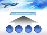 Plane PowerPoint Template#8