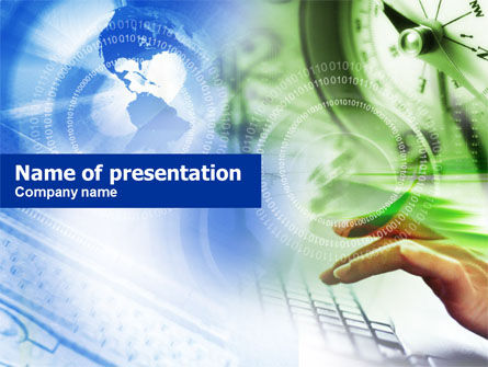 Technology and Science: IT Business PowerPoint Template #00684