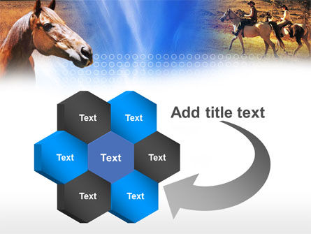 Horse PowerPoint Template Slide 11