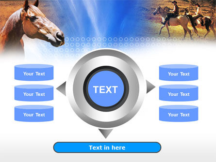Horse PowerPoint Template Slide 12