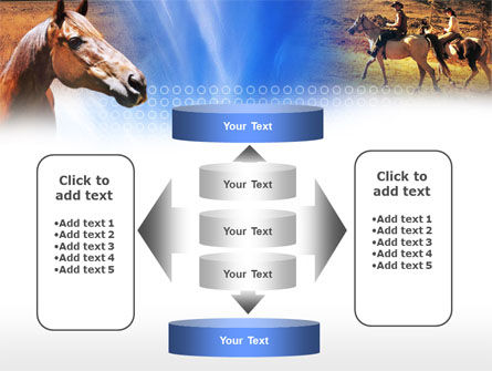Horse PowerPoint Template Slide 13