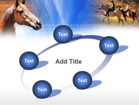 Horse PowerPoint Template Slide 14