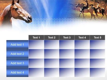 Horse PowerPoint Template Slide 15