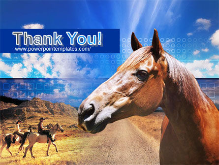 Horse PowerPoint Template Slide 20