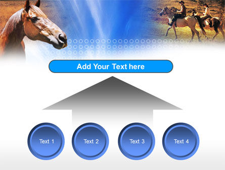 Horse PowerPoint Template Slide 8