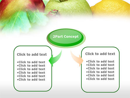 Fresh Fruits Of Summer PowerPoint Template, Slide 4, 00689, Food & Beverage — PoweredTemplate.com
