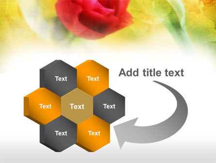 Red Roses PowerPoint Template Slide 11