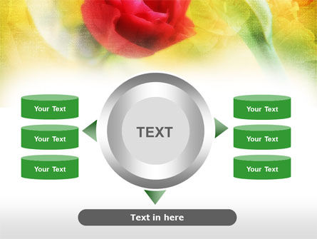 Red Roses PowerPoint Template Slide 12