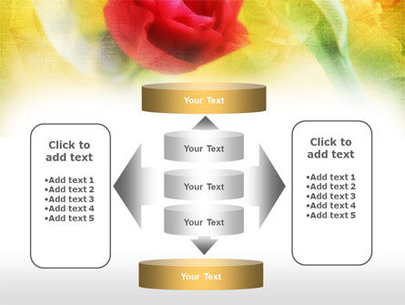 Red Roses PowerPoint Template Slide 13
