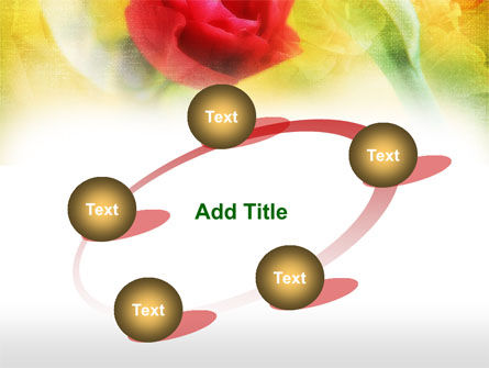 Red Roses PowerPoint Template Slide 14