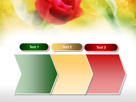 Red Roses PowerPoint Template Slide 16