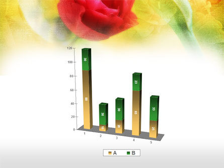 Red Roses PowerPoint Template Slide 17