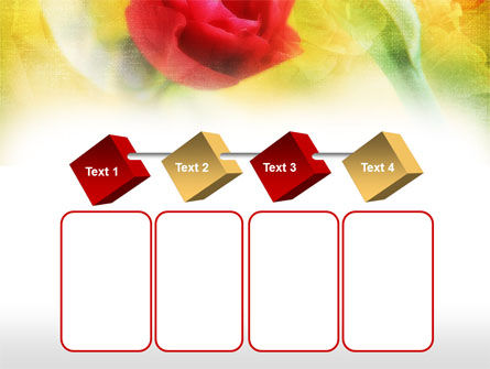 Red Roses PowerPoint Template Slide 18