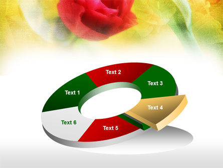 Red Roses PowerPoint Template Slide 19