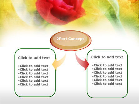 Red Roses PowerPoint Template Slide 4