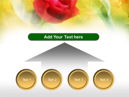 Red Roses PowerPoint Template Slide 8