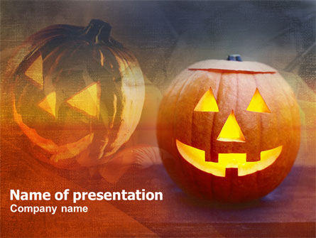 Halloween PowerPoint Template, 00693, Holiday/Special Occasion — PoweredTemplate.com