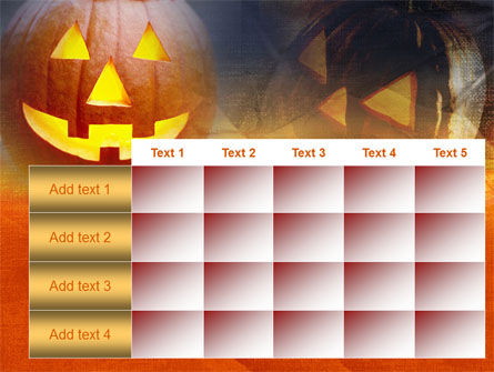 Halloween PowerPoint Template Slide 15