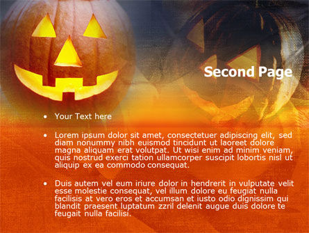 Halloween PowerPoint Template, Slide 2, 00693, Holiday/Special Occasion — PoweredTemplate.com