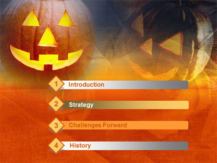 Halloween PowerPoint Template, Slide 3, 00693, Holiday/Special Occasion — PoweredTemplate.com