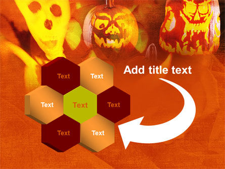 Halloween Decoration PowerPoint Template Slide 11