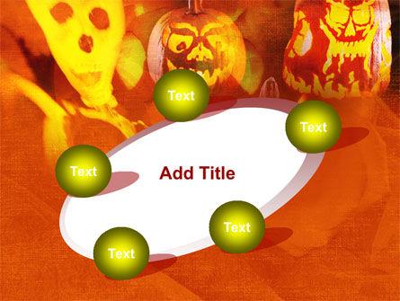 Halloween Decoration PowerPoint Template Slide 14