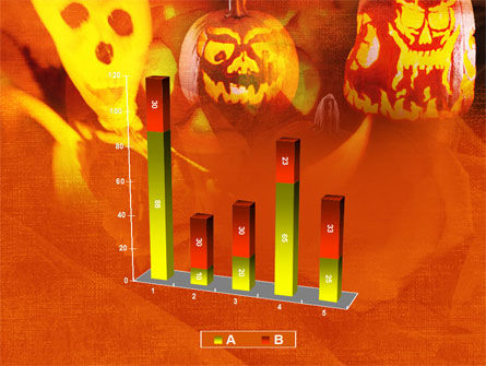 Halloween Decoration PowerPoint Template Slide 17