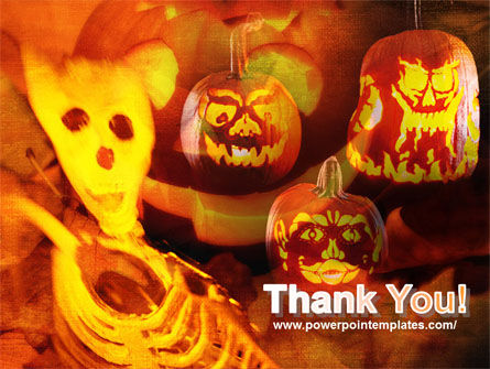 Halloween Decoration PowerPoint Template Slide 20
