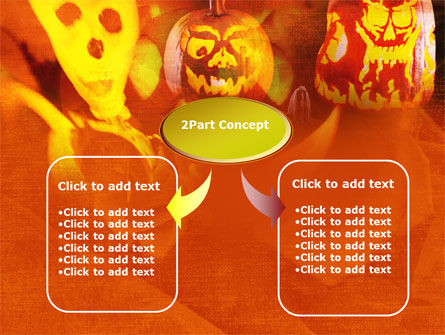 Halloween Decoration PowerPoint Template, Slide 4, 00694, Holiday/Special Occasion — PoweredTemplate.com