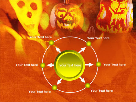 Halloween Decoration PowerPoint Template Slide 7