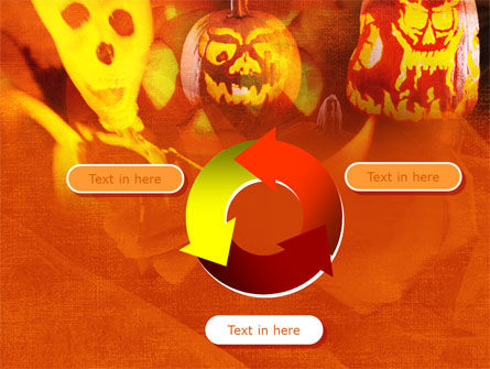 Halloween Decoration PowerPoint Template Slide 9