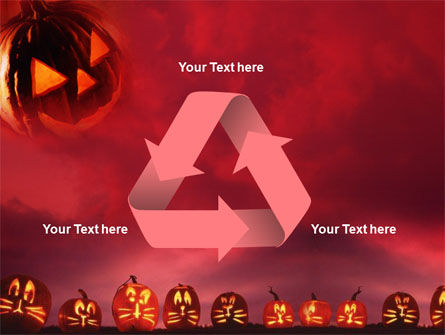 Stingy Jack And Jack O'Lantern Halloween Night PowerPoint Template Slide 10
