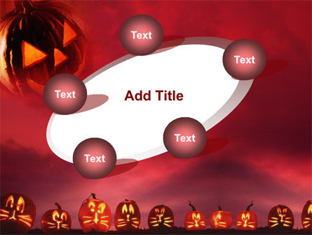 Stingy Jack And Jack O'Lantern Halloween Night PowerPoint Template Slide 14