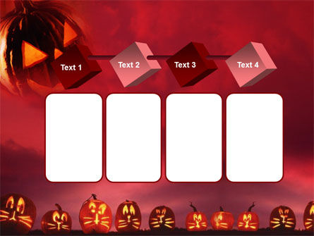 Stingy Jack And Jack O'Lantern Halloween Night PowerPoint Template Slide 18