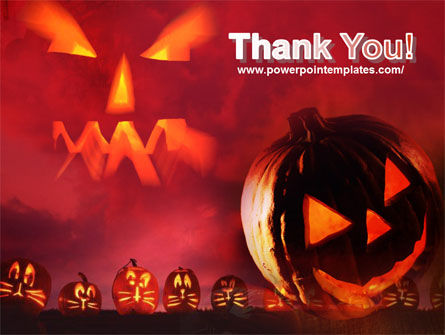 Stingy Jack And Jack O'Lantern Halloween Night PowerPoint Template Slide 20