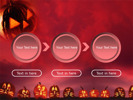 Stingy Jack And Jack O'Lantern Halloween Night PowerPoint Template Slide 5