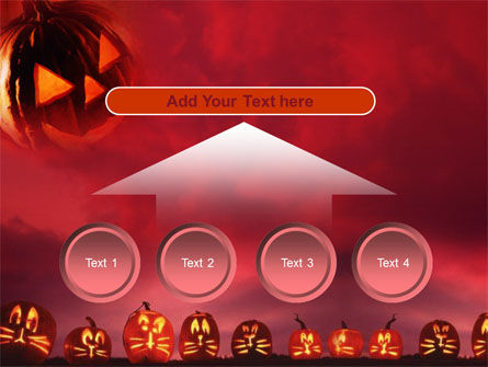 Stingy Jack And Jack O'Lantern Halloween Night PowerPoint Template Slide 8