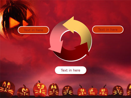 Stingy Jack And Jack O'Lantern Halloween Night PowerPoint Template Slide 9