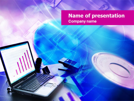 Multimedia PowerPoint Template, 00698, Technology and Science — PoweredTemplate.com