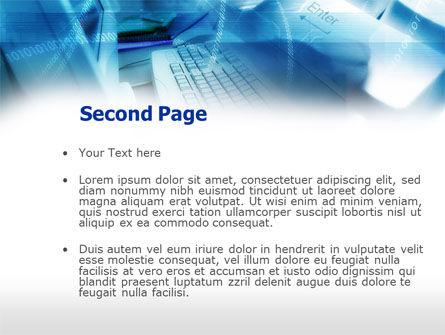 Computer Class PowerPoint Template Slide 2