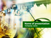 Telecommunication: Company Staff PowerPoint Template #00702