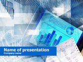Business: Stock Market News PowerPoint Template #00708