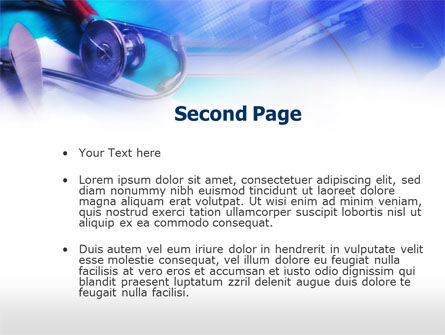 Medical Tests In The Lab PowerPoint Template Slide 2