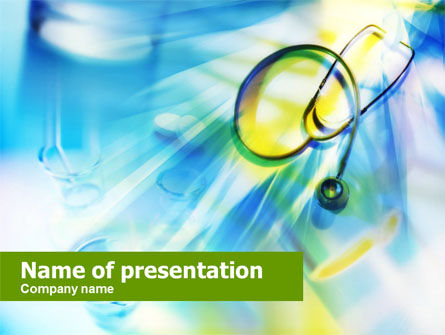 Medical Services PowerPoint Template, 00710, Medical — PoweredTemplate.com